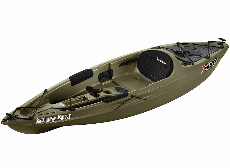 SUNDOLPHIN Sun Dolphin Journey 10-Foot Sit-on-top Fishing Kayak